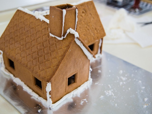 2012 Christmas Ginger Bread house